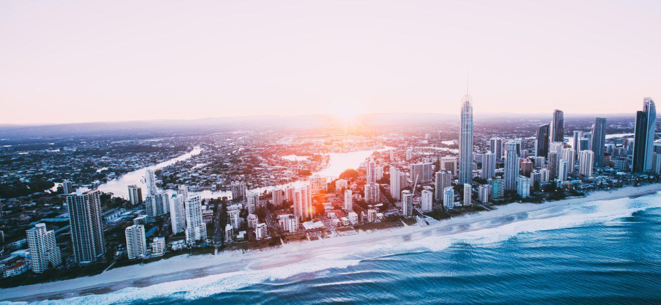 City of Gold Coast Skyline