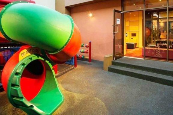 Kids playground at Lonestar Tavern
