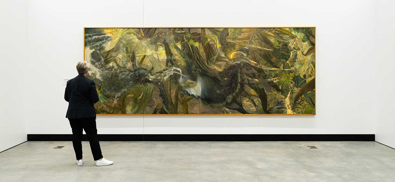 The Rainforest by William Robinson AO at the HOTA Gallery