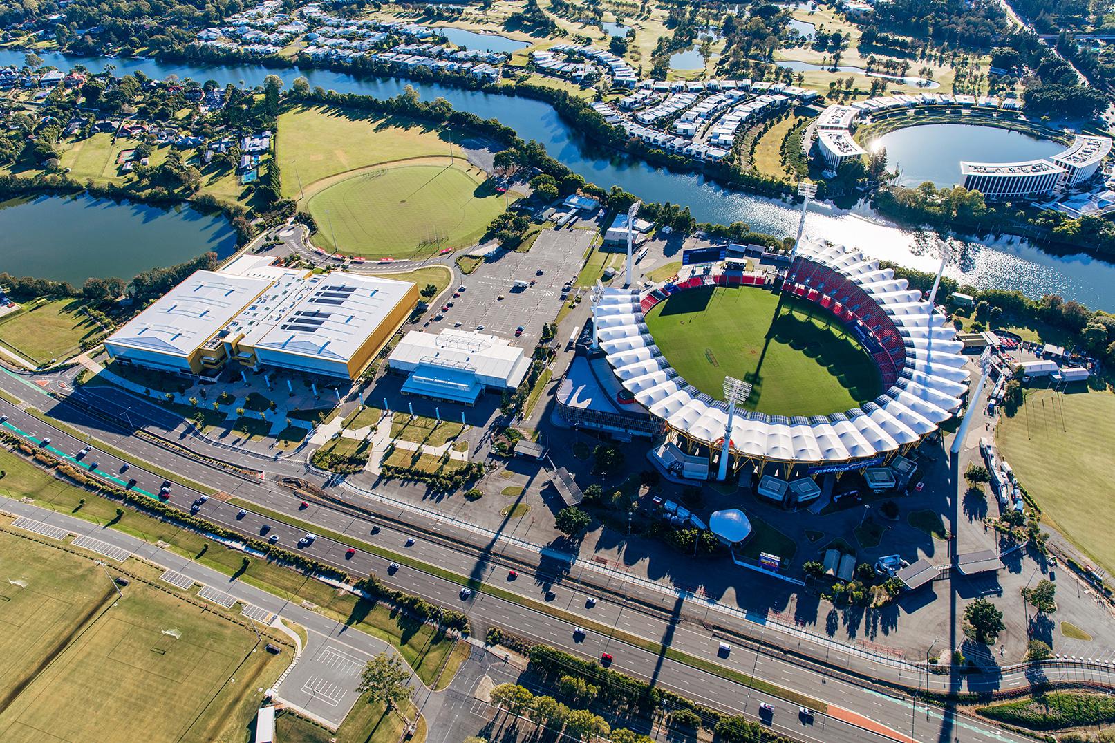 Carrara Sports precinct including Metricon stadium