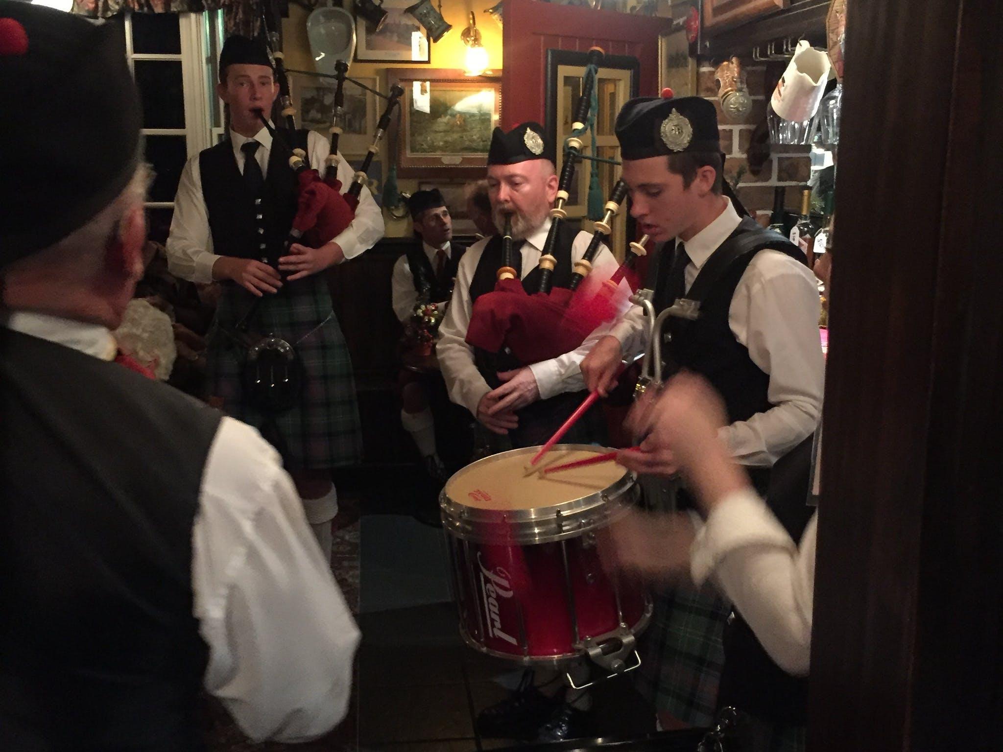 Scotland The Brave Pipe Celebration Dinner