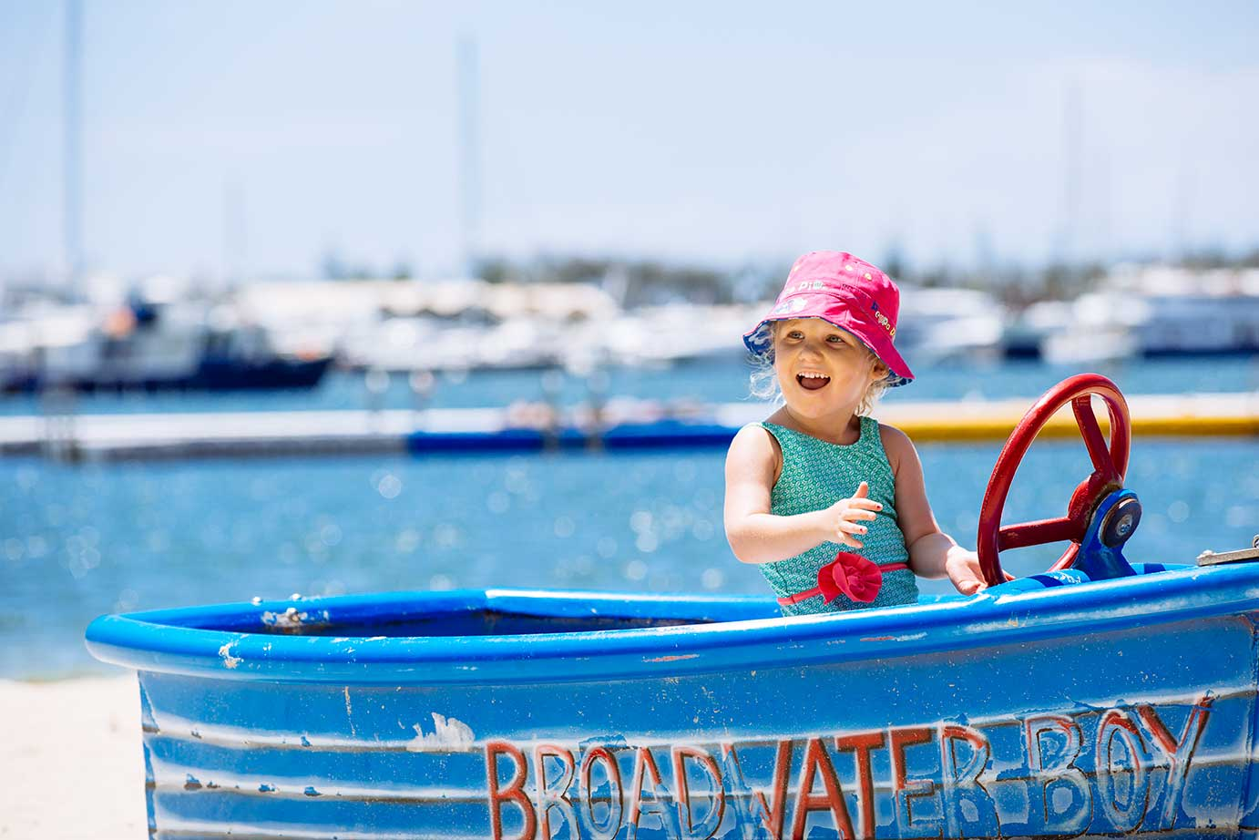 There's hours of play at the Broadwater Parklands