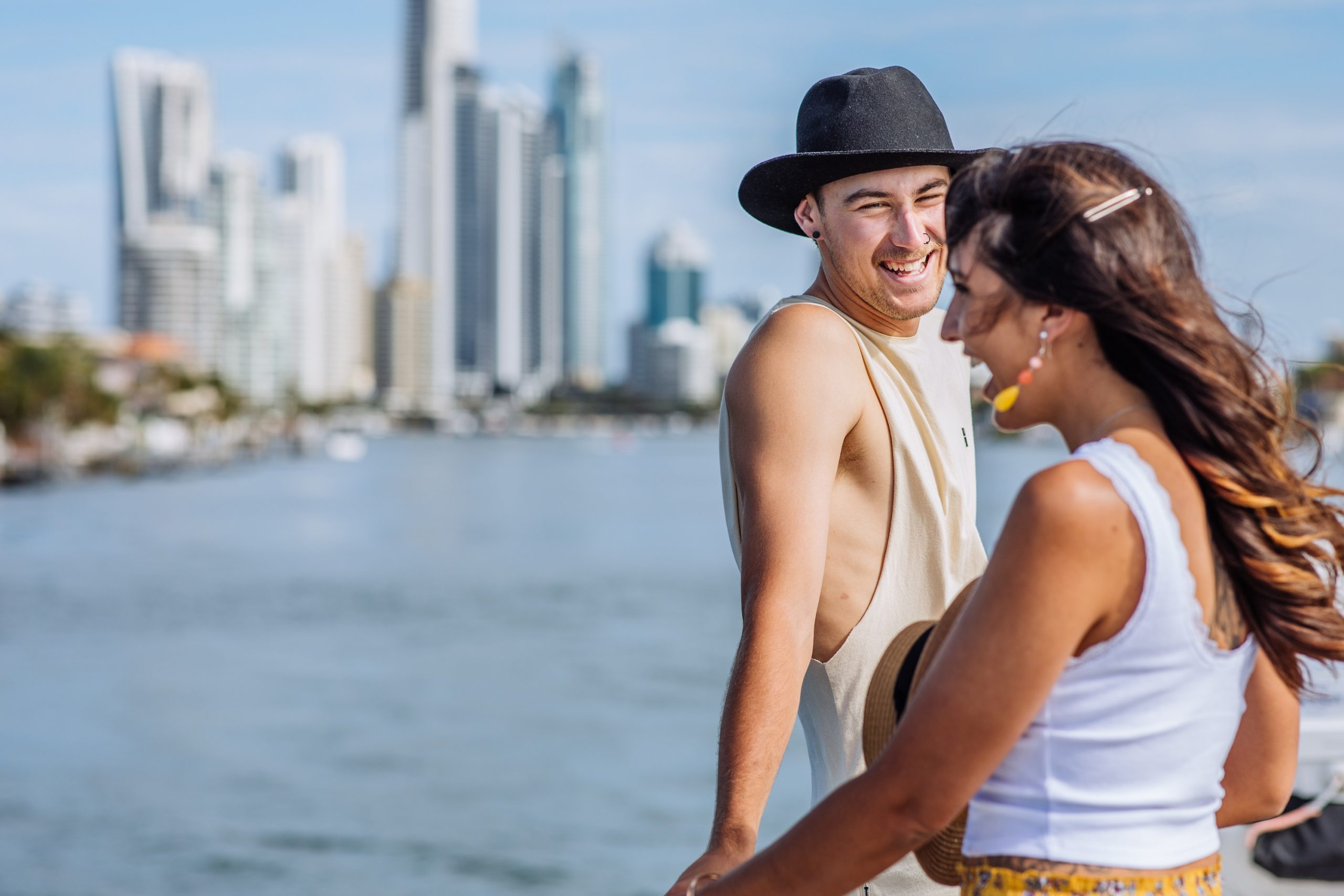 Enjoy the waterways with your partner stopping at the various stops along the way
